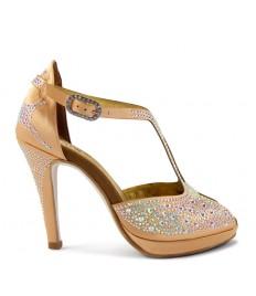 genuino anteprima di moderno ed elegante nella moda Scarpe da Latino Americano da Donna - Bachata ,kizomba,salsa ...